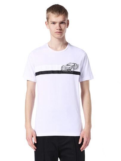 Diesel - TY-STRIPESCAR,  - T-Shirts - Image 1