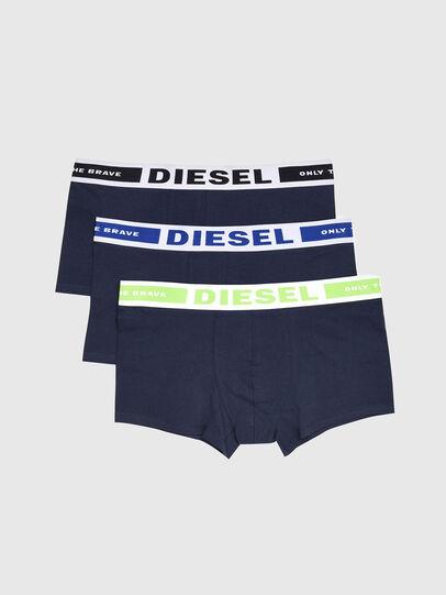 Diesel - UMBX-KORYTHREEPACK, Blu Navy - Boxer stretch - Image 1