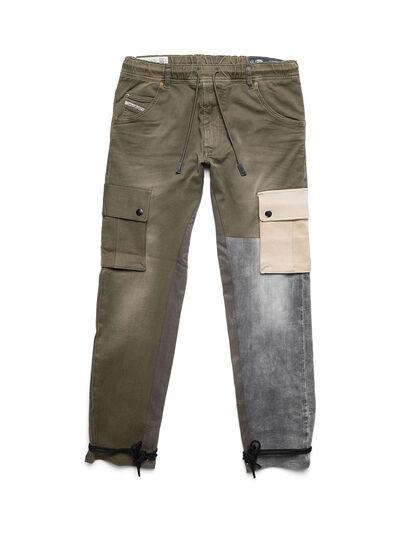 Diesel - D-ARGO-JOGG, Verde Militare - Pantaloni - Image 1
