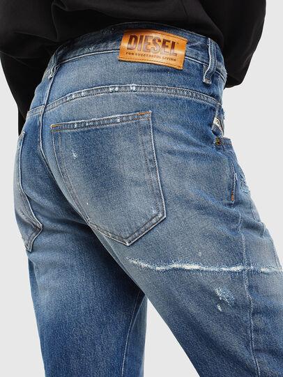 Diesel - Fayza 0097B, Blu medio - Jeans - Image 4