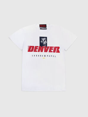 LCP-T-DIEGO-DENVER, Bianco - T-Shirts