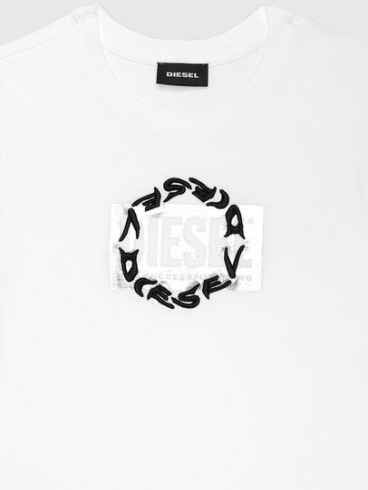 Diesel - TSILYRSUC ML, Bianco - T-shirts e Tops - Image 3