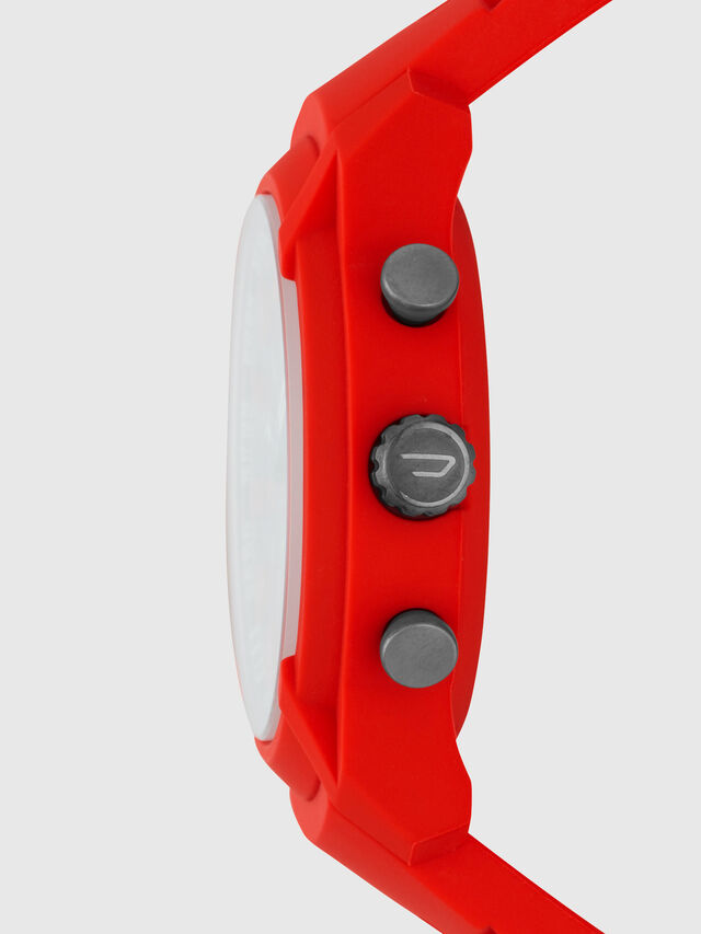 Diesel - DT1016, Rosso - Smartwatches - Image 4