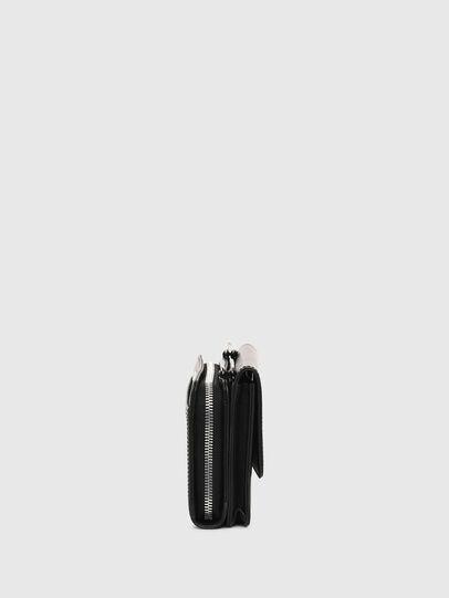 Diesel - DUPLET LCLT, Nero - Portafogli Con Zip - Image 3