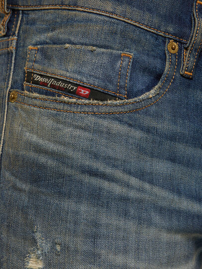 Diesel - Tepphar 009GP, Blu Scuro - Jeans - Image 4