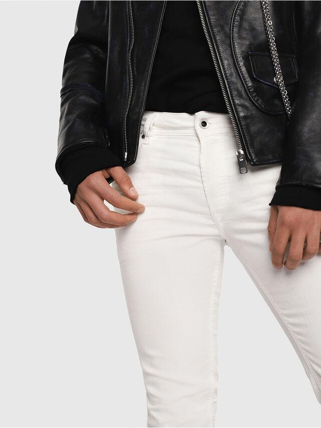 Diesel - Sleenker 084CY, Bianco - Jeans - Image 3