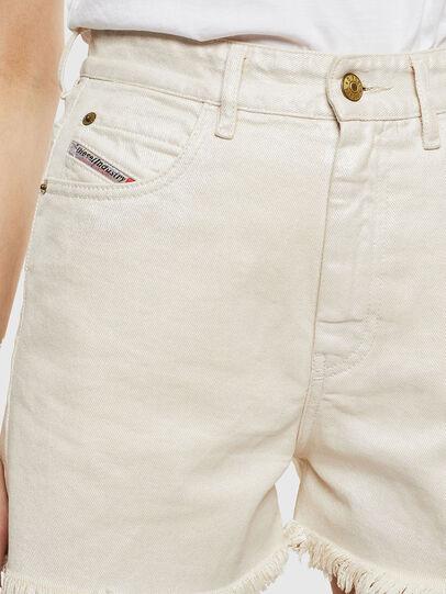 Diesel - DE-EISELLE, Bianco - Shorts - Image 4