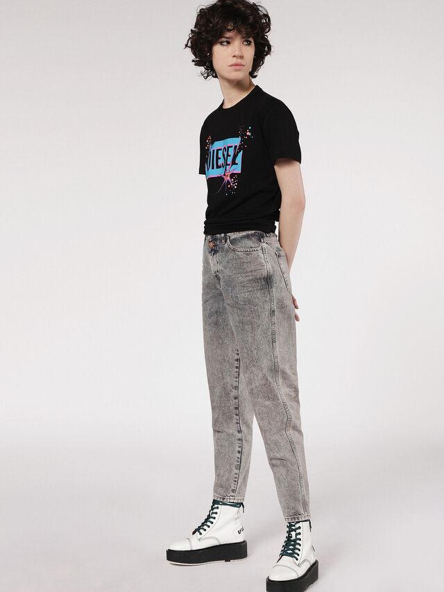 Diesel - T-EXPLO, Nero - T-Shirts - Image 4