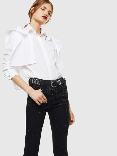Diesel - C-RAILY-SHAPED, Bianco - Camicie - Image 4
