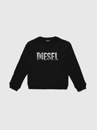 Diesel - SRALY, Nero - Felpe - Image 1