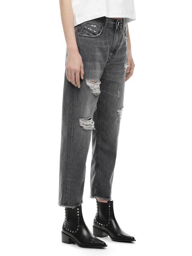 Diesel - TYPE-1815-RE, Grigio Jeans - Jeans - Image 3