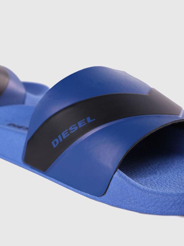 Diesel - SA-MARAL, Blu - Ciabatte - Image 4