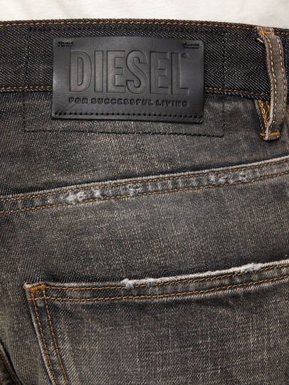 Diesel - D-Kras 009EA, Nero/Grigio scuro - Jeans - Image 5