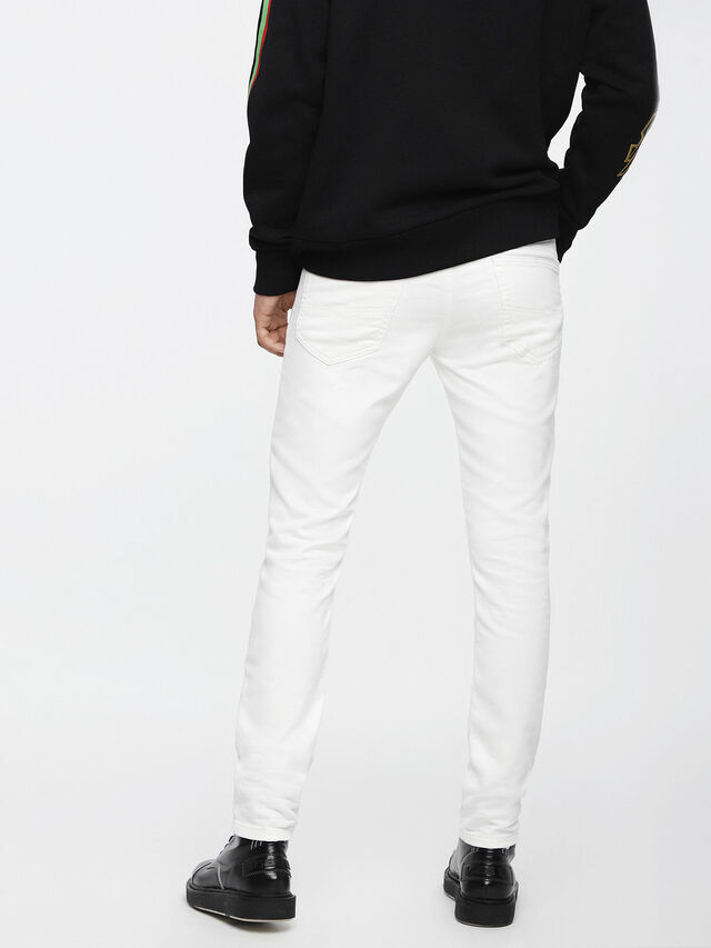 Diesel - Thommer JoggJeans 0689X, Bianco - Jeans - Image 2