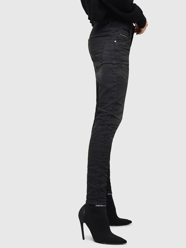 Diesel - Krailey JoggJeans 069GN, Nero/Grigio scuro - Jeans - Image 5