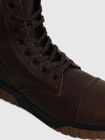 Diesel - H-RUA AM, Marrone - Sneakers - Image 5