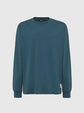 T-JUST-LS-MOHI, Verde Acqua - T-Shirts