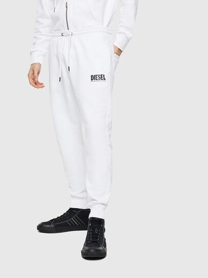 Diesel - P-TARY-LOGO, Bianco - Pantaloni - Image 1