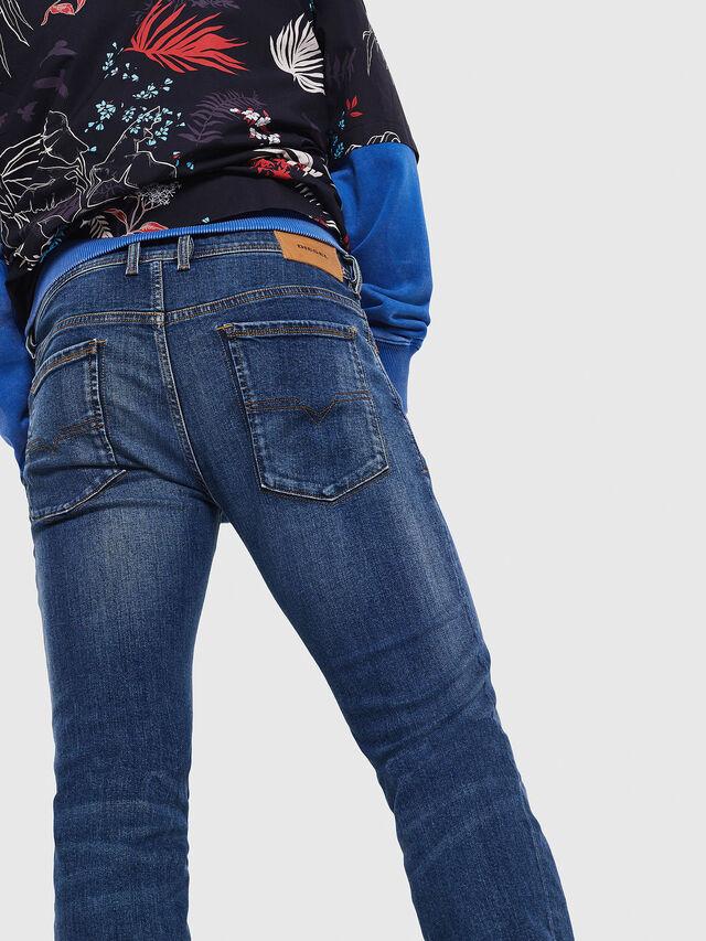 Diesel - Sleenker 069AJ, Blu medio - Jeans - Image 3