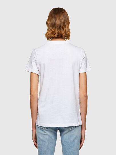 Diesel - T-SILY-B8, Bianco - T-Shirts - Image 2