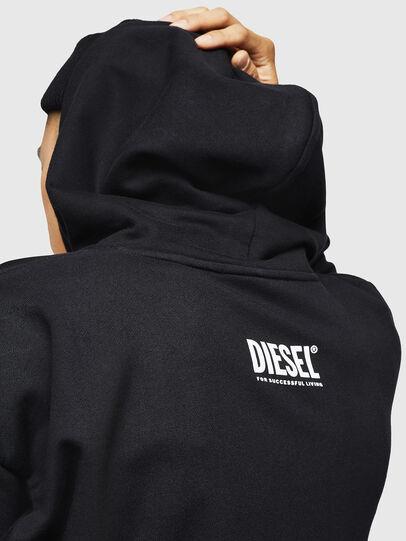 Diesel - S-ALBY-B6, Nero - Felpe - Image 4