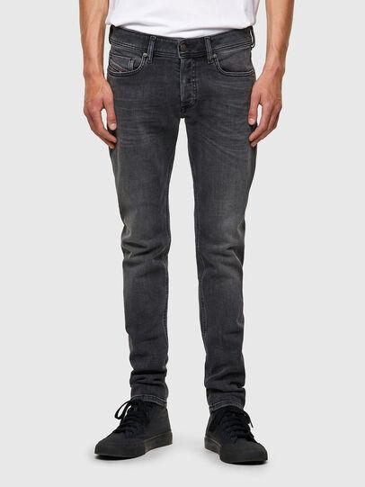 Diesel - Sleenker 09A18, Nero/Grigio scuro - Jeans - Image 1