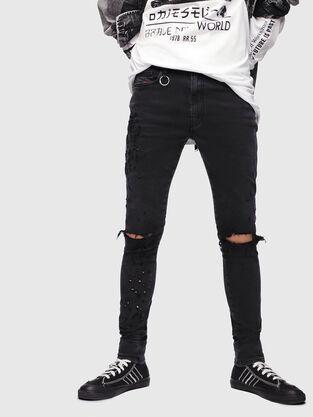 D-Istort 085AW, Nero/Grigio scuro - Jeans