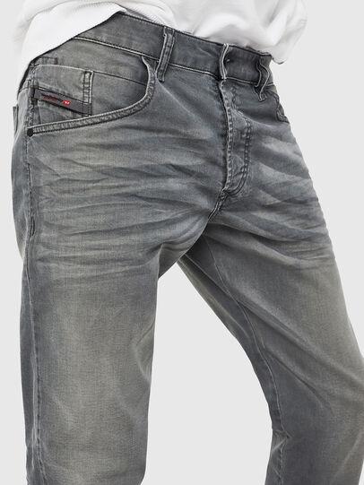 Diesel - D-Bazer 0699P, Grigio Jeans - Jeans - Image 3