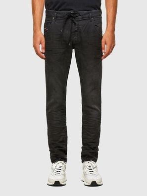 KROOLEY JoggJeans® 069QL, Nero/Grigio scuro - Jeans