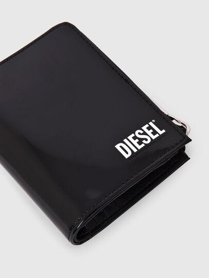 Diesel - L-12 ZIP, Nero - Portafogli Con Zip - Image 5