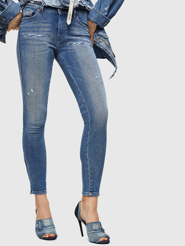 Slandy Zip 083AP, Blu medio - Jeans