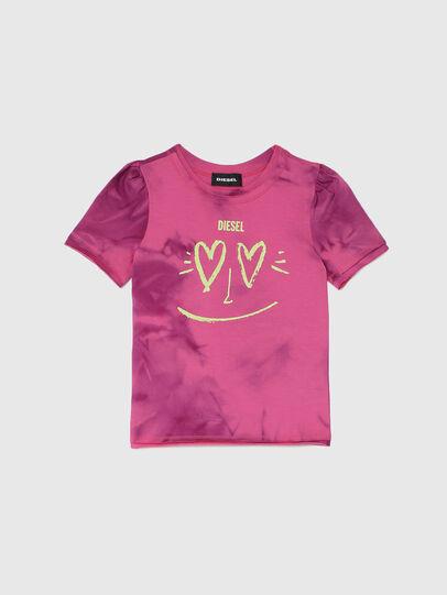 Diesel - TINTDB-R, Rosa - T-shirts e Tops - Image 1