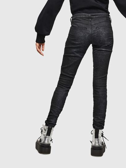 Diesel - Gracey JoggJeans 069GP, Nero/Grigio scuro - Jeans - Image 2