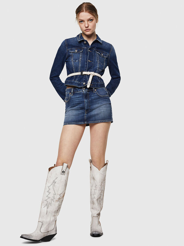 Diesel - DE-LIMMY, Blu Jeans - Giacche in denim - Image 5