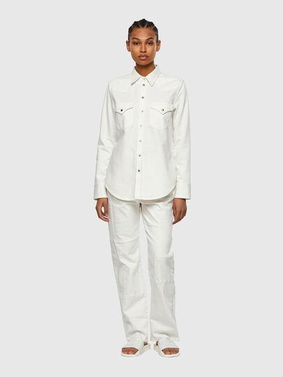 Diesel - DE-RINGY, Bianco - Camicie in Denim - Image 5