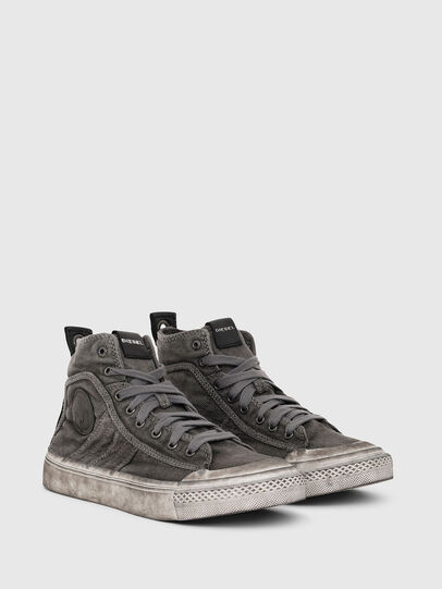 Diesel - S-ASTICO MID LACE W, Grigio - Sneakers - Image 2