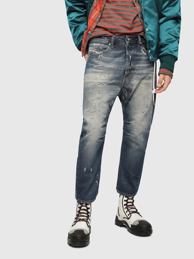 Diesel - Narrot 088AQ, Blu Scuro - Jeans - Image 1