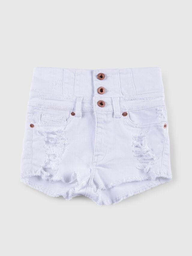 Diesel - PSKORSET, Bianco Jeans - Shorts - Image 1