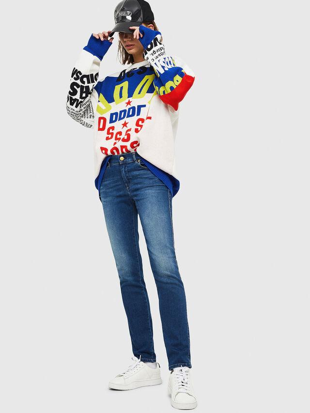 Diesel - Sandy 086AL, Blu medio - Jeans - Image 4