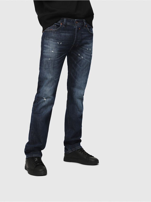 Diesel - Safado C87AN, Blu Scuro - Jeans - Image 1
