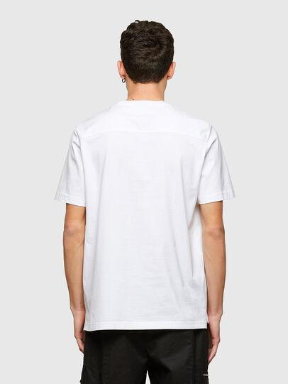 Diesel - T-WORKAN, Bianco - T-Shirts - Image 2