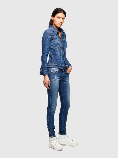 Diesel - Slandy Low 009PU, Blu medio - Jeans - Image 6