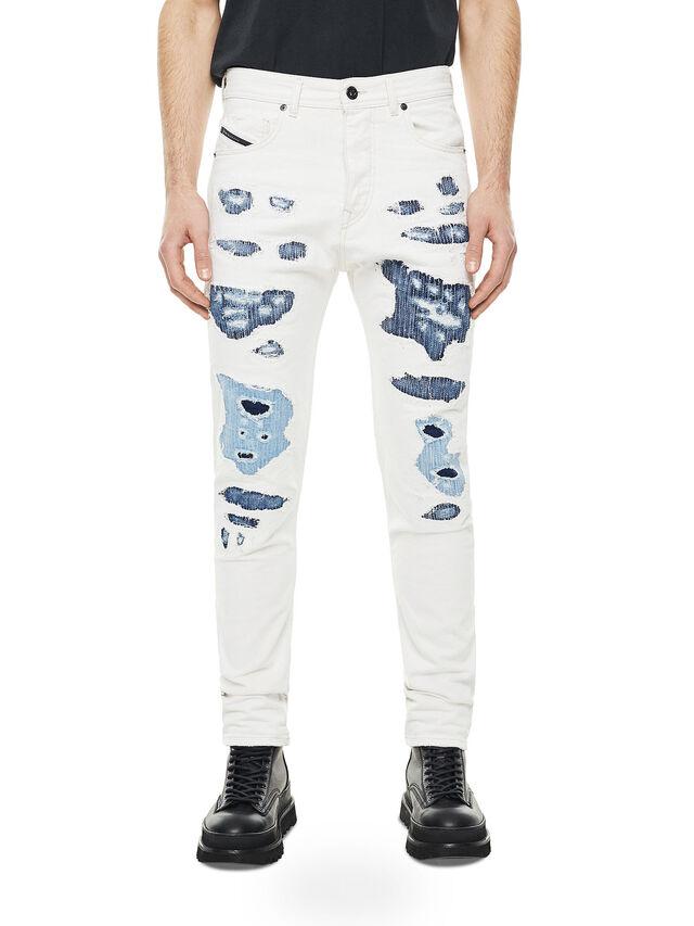 Diesel - TYPE-2880, Bianco/Blu - Jeans - Image 1