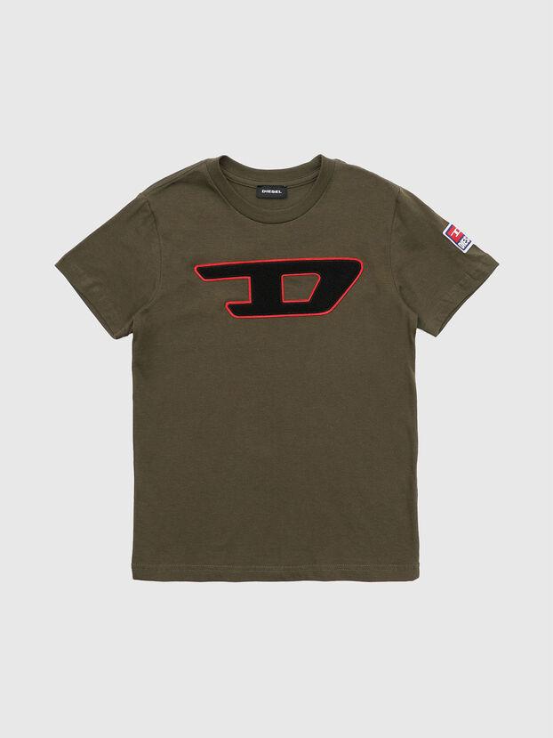 TJUSTDIVISION-D, Verde Militare - T-shirts e Tops