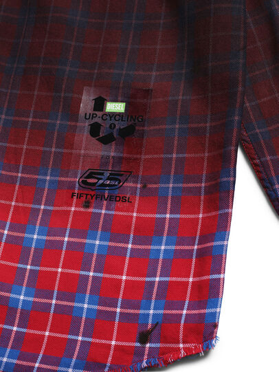 Diesel - D-DEEPCHECK-B, Rosso - T-Shirts - Image 5
