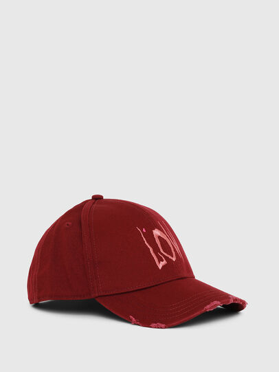Diesel - CIDAY, Rosso - Cappelli - Image 1