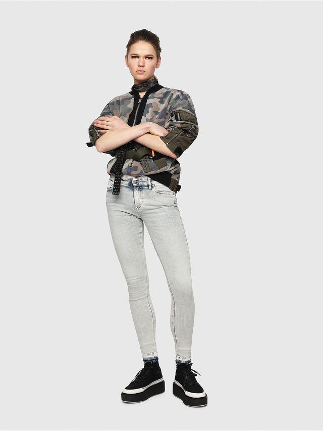 Diesel - Slandy 086AF, Blu Chiaro - Jeans - Image 4