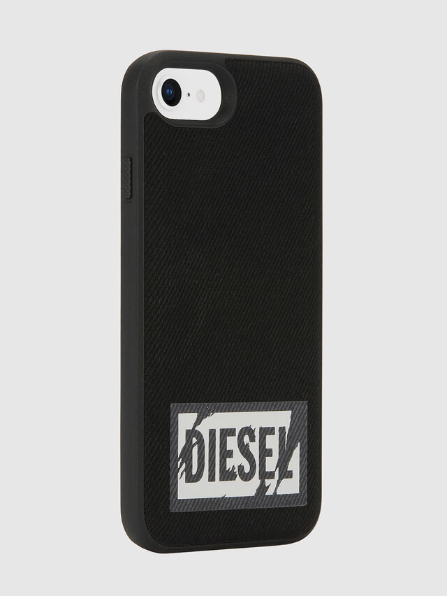 Diesel - BLACK DENIM IPHONE 8/7/6S/6 CASE, Nero - Cover - Image 5