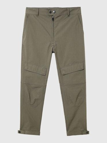 Pantaloni in ripstop con applicazioni staccabili
