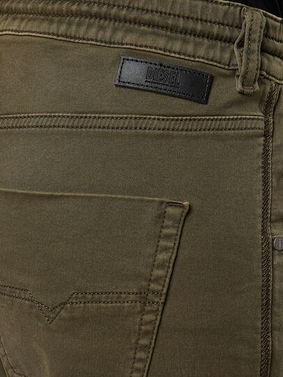 Diesel - Krailey JoggJeans® 0670M, Verde Militare - Jeans - Image 4